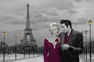 paris-sunset-marilyn-monroe-and-elvis-presley-by-chris-consani